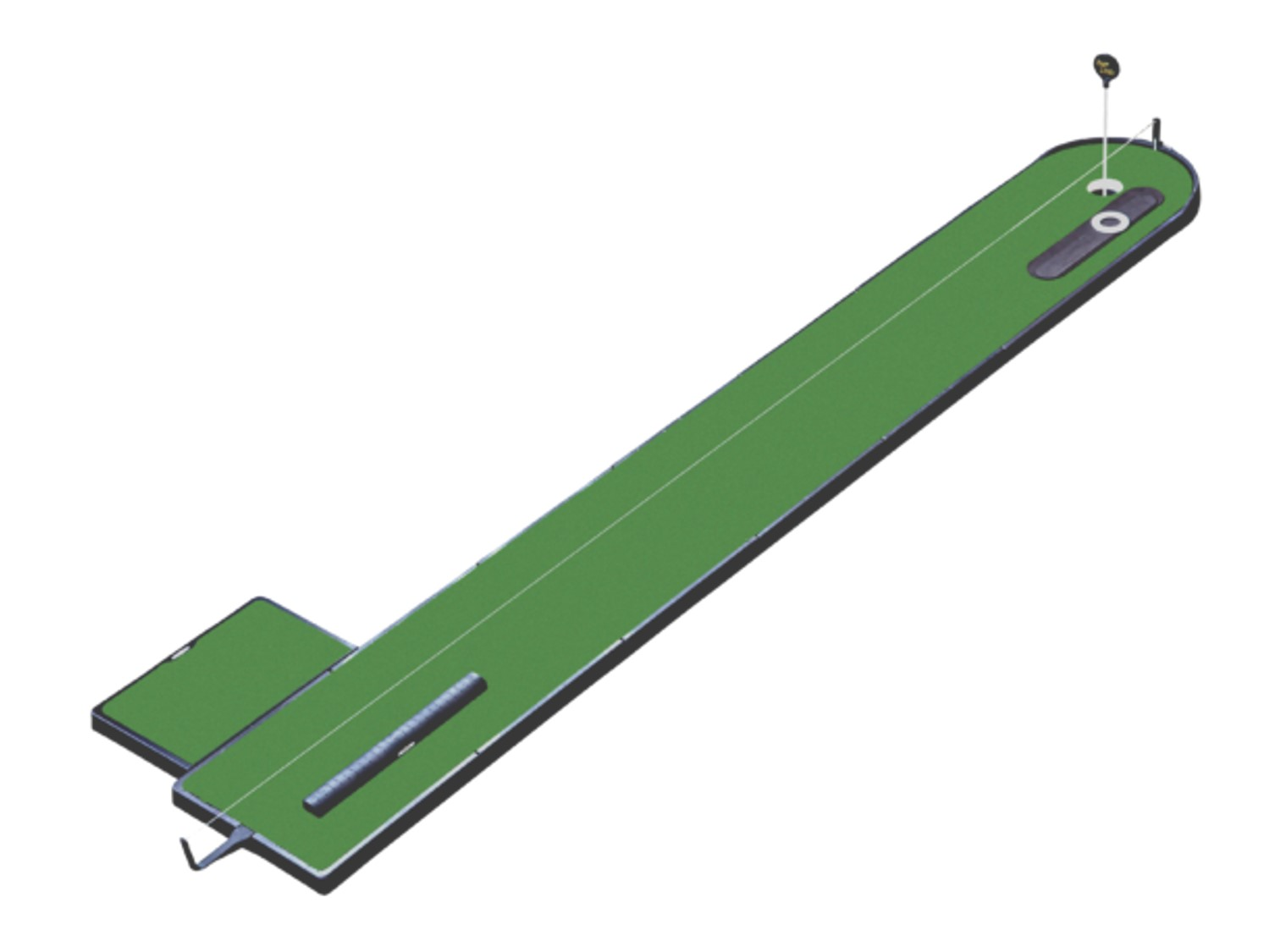 13 Foot Training Aid Putting Green