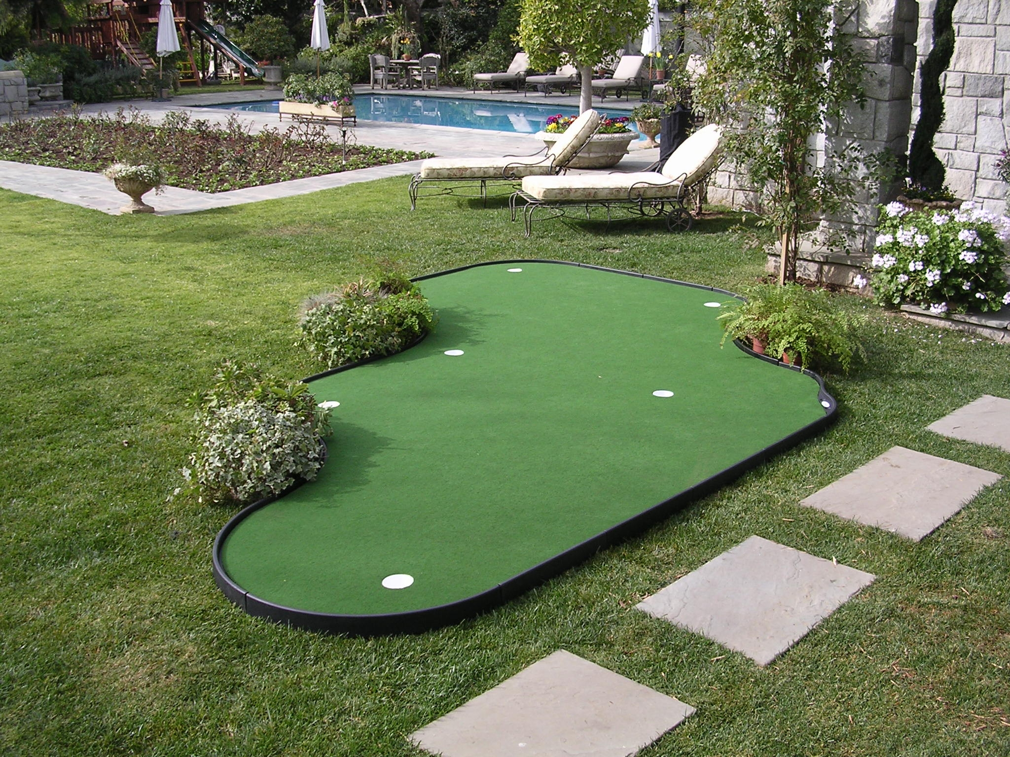 backyard putting greens tour links
